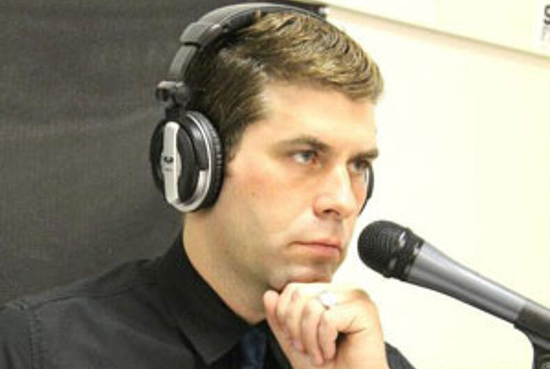 Radio station cancels public affairs program over interview with LGBT advocate