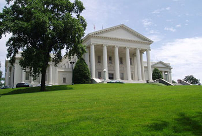 Bill protecting Virginia LGBT state employees moves to Senate floor