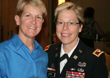 Lesbian spouse of Army Brig. Gen. to join First Lady for 'State of the Union'