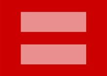 Red, marriage equality icons spread throughout social media