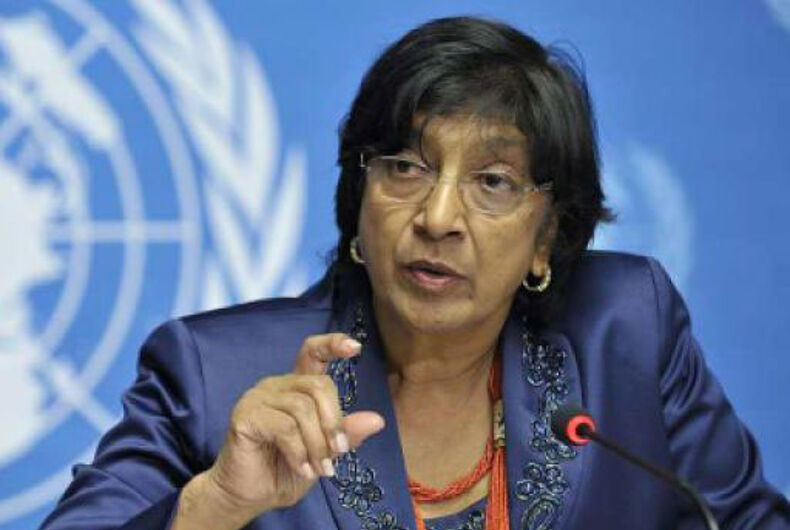 United Nations' human rights office unveils global LGBT rights campaign