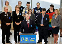 Indiana coalition aims to defeat constitutional ban on same-sex marriage