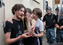 Human Rights Watch video documents increased violence against LGBT Russians