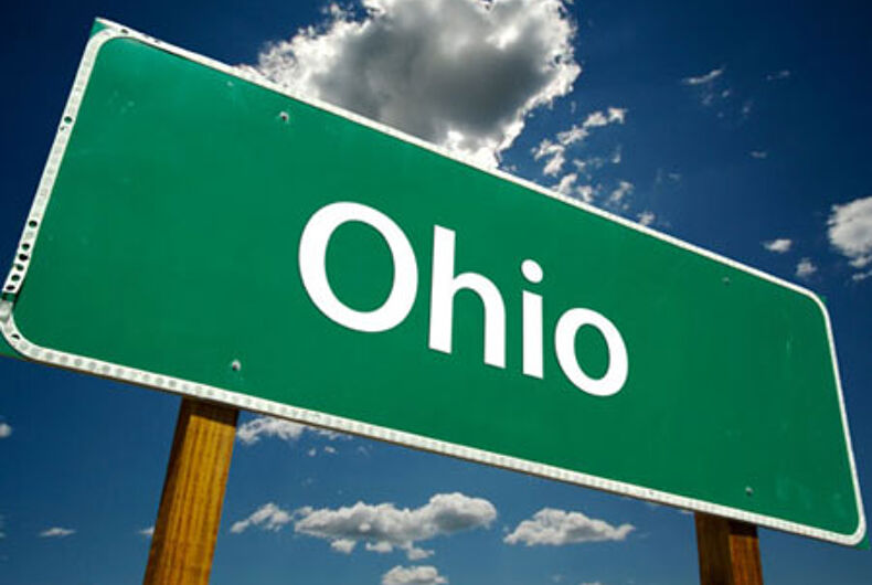 Ohio group seeking to overturn gay marriage ban to launch petition for gay rights act