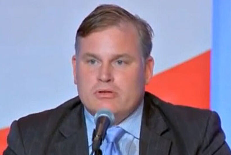 NOM reveals horrifying plan to work with Trump to roll back LGBTQ rights