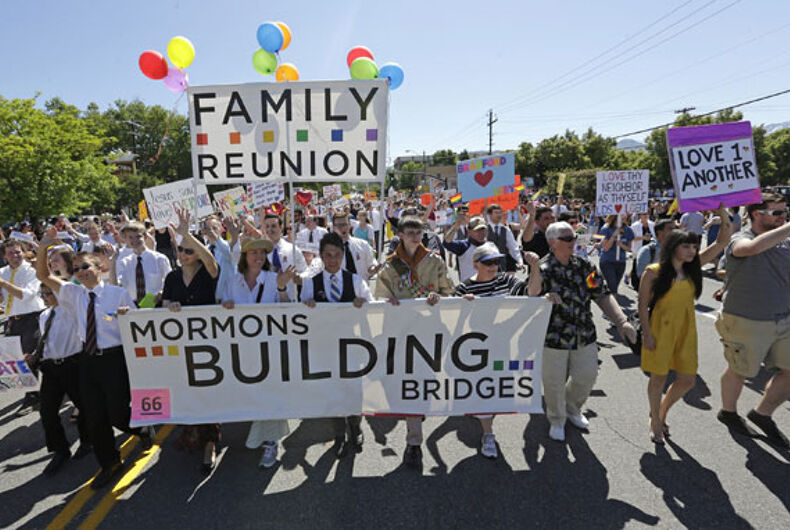 Mormon faith-based LGBT group rejected by parade honoring LDS pioneers
