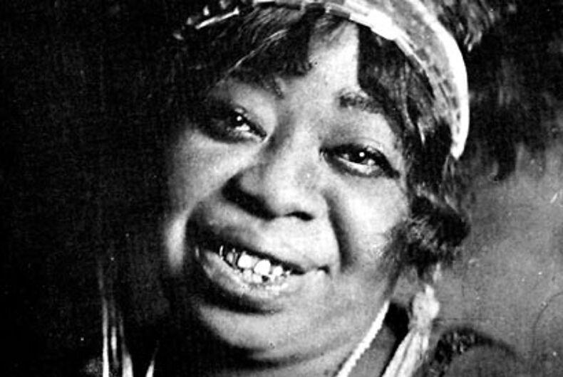 LGBT History Month profile: Blues singer, recording artist Ma Rainey