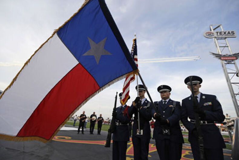 Texas National Guard to allow same-sex couples to register for benefits