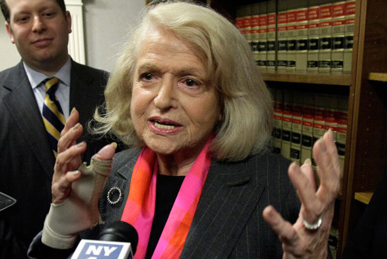 Marriage Equality USA: Interview with Edith Windsor (Part 2)