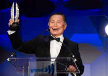 George Takei presented with GLAAD award for promoting LGBT equality