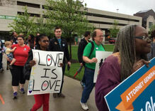 Marriage equality supporters urge Ohio to drop its appeal of marriage ruling