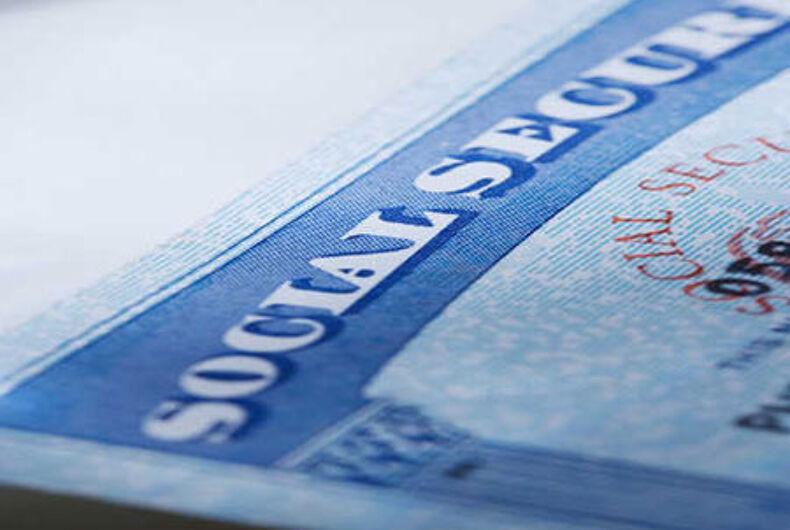 Lambda Legal files suit against SSA over denial of same-sex survivor benefits
