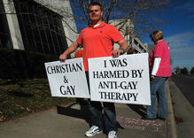 Hate group says conversion therapy ban violates 'sincerely held religious beliefs'