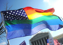 Large-scale government health survey reports on gay, bisexual Americans