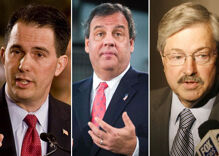 Republican governors' rhetoric softening on same-sex marriage