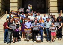 Wyo. group submits 2,300 pro-marriage equality signatures to governor, AG