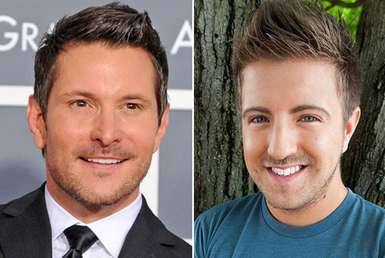 Country music singers Ty Herndon, Billy Gilman come out as gay