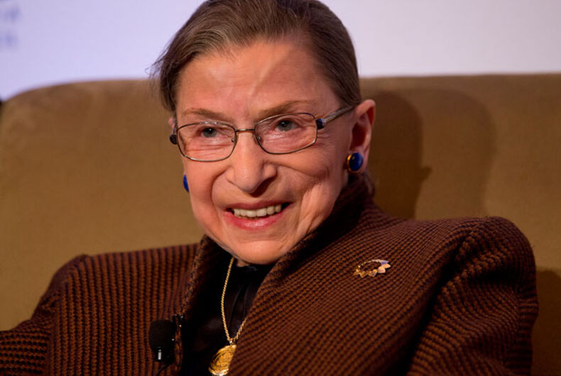 """Town wants to name their library after the late RBG for being an """"icon"""" for LGBTQ people"""