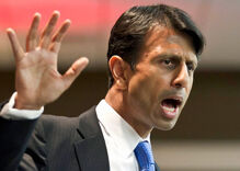 Louisiana governor Bobby Jindal supports bill allowing businesses to refuse service to LGBT people