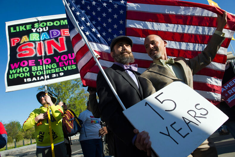 AP-GfK Poll: Nuanced views on LGBT rights, religious liberty