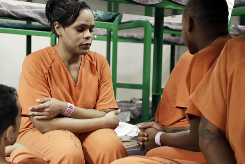 There are twice as many LGBTQ people in prison as in the general population