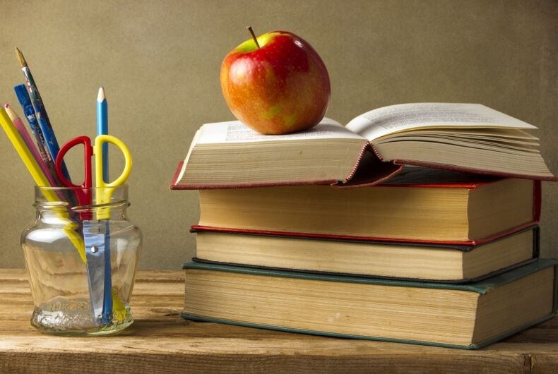 Why is the Albuquerque public school system tweeting about LGBTQ rights?